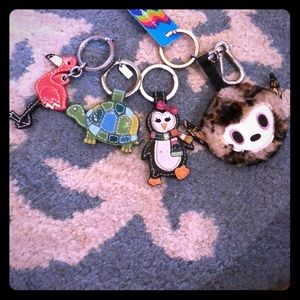 Animal keychain bundle!